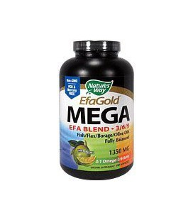 Nature's Way Mega 3/6/9 Blend 1350mg, 180 Softgels
