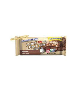 Pure Protein S'mores Value Pack 6-50 Gram Bars (Pack of 2)