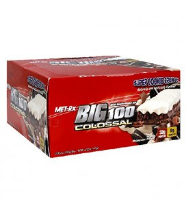 Met-Rx Big 100 Colossal Meal Replacement Bar, Super Cookie C