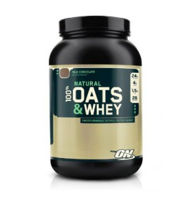 Optimum Nutrition 100% Natural Oats and Whey lait Chocolat 1360gr