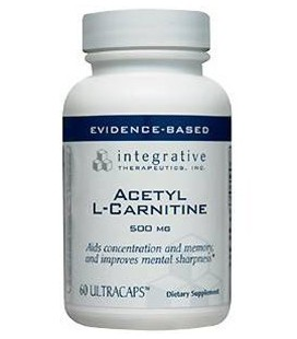 Integrative Therapeutics Acetyl L-carnitine, 500 mg, 60 Cap