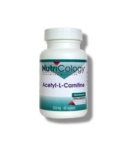 Nutricology Acetyl L-carnitine, 500 Mg, Vegicaps, 100-Count