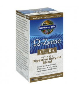 Garden of Life Omega-Zyme Ultra Ultimate Digestive Enzyme Bl
