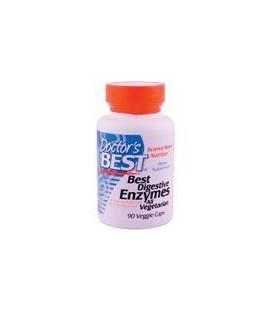 Doctor's Best Best Digestive Enzymes, Vegetable Capsules, 90