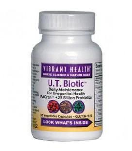 Vibrant Health U.T. Biotic, 30 Capsules
