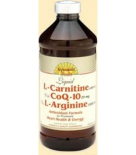 L-Carnitine with Co-Q10 and L-Arginine 16 Ounces