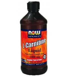 NOW Foods, LIQUID CARNITINE TROPICAL PUNCH 16 OZ ( Multi-Pac