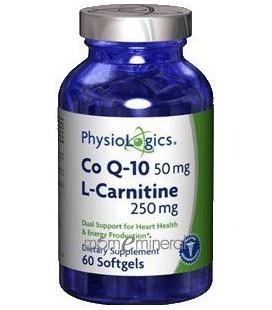 PhysioLogics - Coenzyme Q10 & L-Carnitine 60 gels