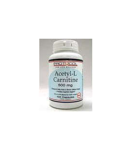 Protocol for Life Balance Acetyl-L-Carnitine, 500 mg - 100 C