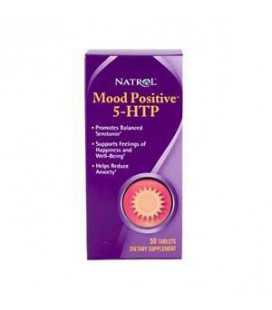 Natrol 5-HTP Mood Positive Tablets, 50-Count