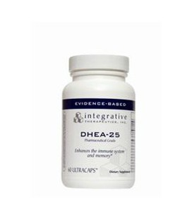 Intégratives Therapeutics - DHEA 25 mg 60 caps [Santé et beauté]