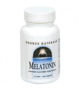 Source Naturals Melatonin 2.5mg, Orange, 240 Tablets