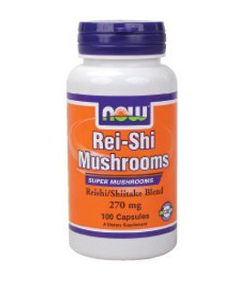 NOW Foods - Rei -Shi Mushrooms 270 mg 100 caps