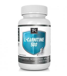 Numéro 1 Meilleur L-Carnitine - 120 Count 500mg Capsules Végétarien - Servir 1000mg Quotidien