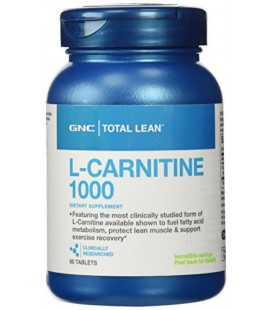 GNC total Lean L-Carnitine 1000 60 comprimés