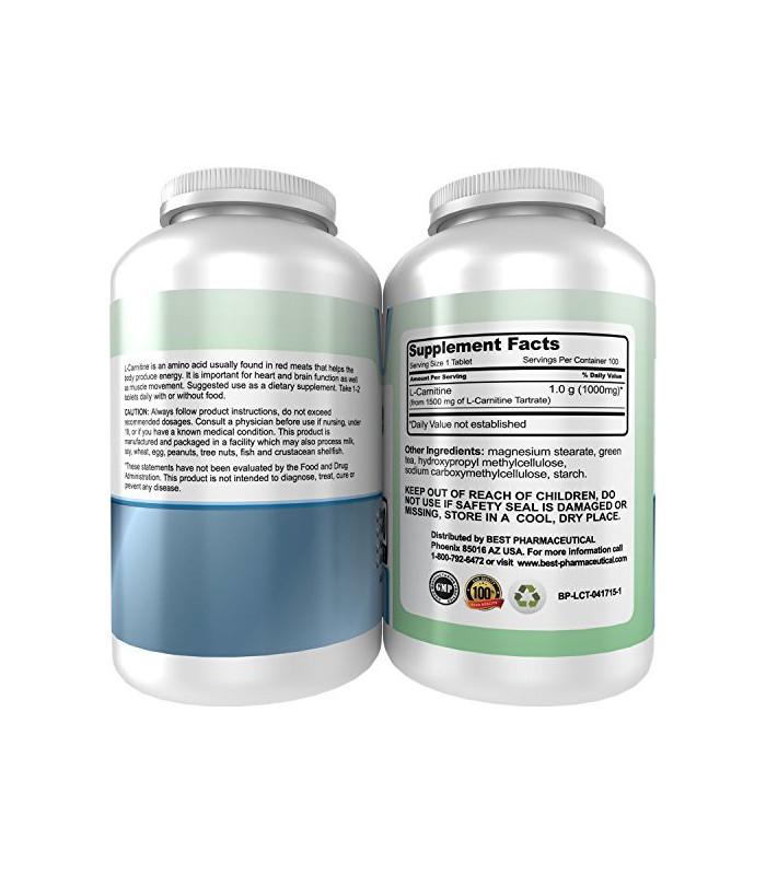 Meilleur pharmaceutique L-Carnitine Tartrate Acide aminé