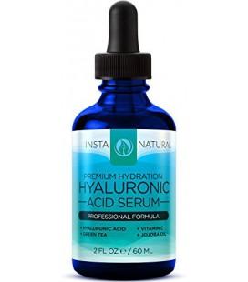 InstaNatural Acide Hyaluronique Sérum - Meilleur Anti-Aging Skin Care produit pour le visage - avec la vitamine C Sérum, Vitamin