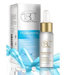 DEAL DU JOUR - 180 Cosmétiques - Acide Hyaluronique Sérum et de la vitamine C avec de l'oxygène - Plus forte concentration d'aci