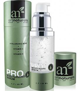 ArtNaturals Acide Hyaluronique Sérum 1 oz -Meilleur Anti Aging Skin Care produit pour le visage Force clinique avec la vitamine