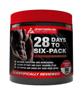 28 Days To Six Pack (90 capsules)