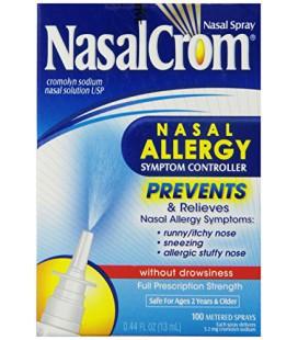 Nasalcrom Spray Nasal sans Somnolence, 0,44 fl oz (13 ml)