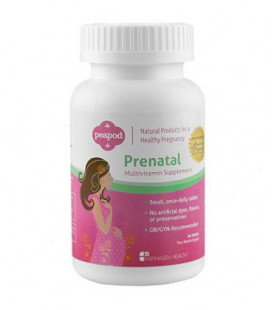 PeaPod prénatale multivitamines, 60 comprimés