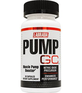 PUMP GC - Booster Oxyde Nitrique avec GlycoCarn L-Carnitine (60 capsules)