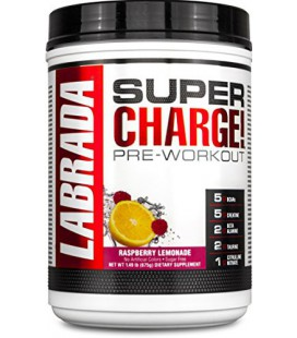 Super Charge Pre Workout (675 gr) parfum framboise