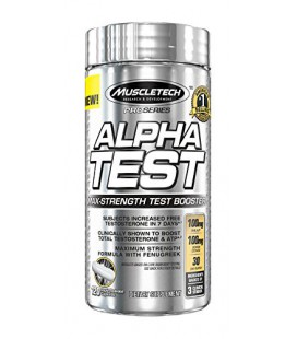 AlphaTest, Testosterone Booster (120 capsules)