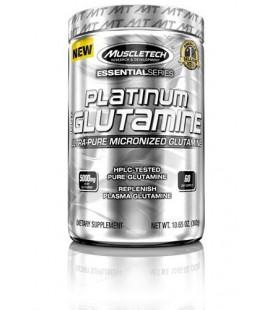 Platinum 100% Glutamine Ultra-Pure micronisée pour 60 jours (302g)