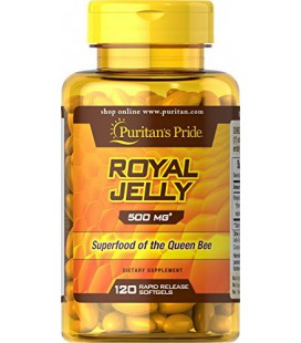 Gelée royale 500 mg (120 Softgels) de Puritan's Pride