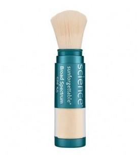Colorescience Sunforgettable Mineral SPF 50 Sunscreen Brush, Fair, 0.21 oz.