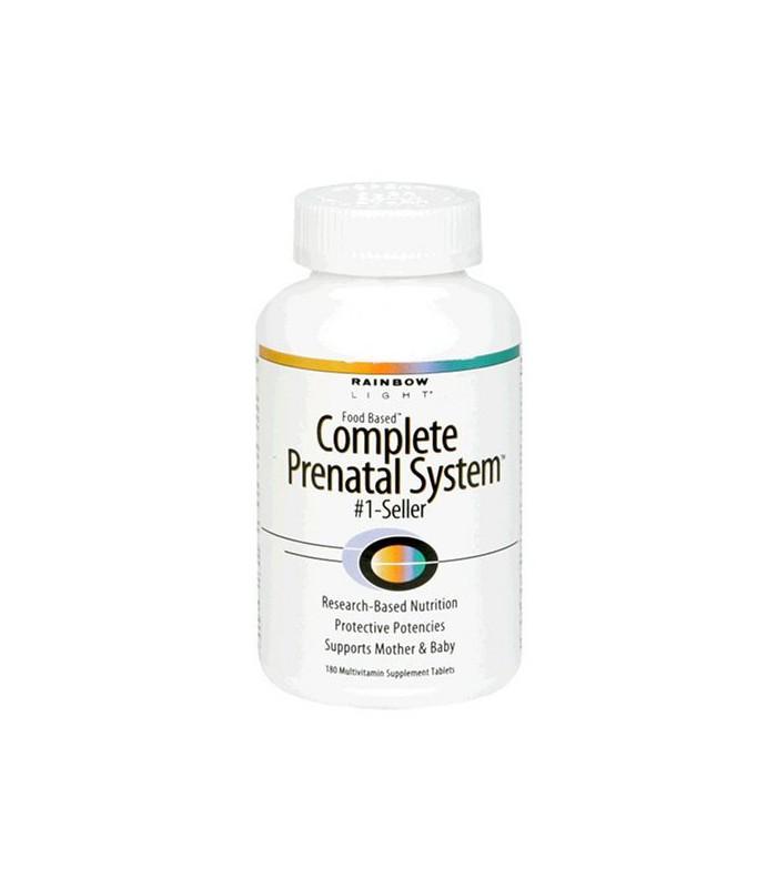 vitamines rainbow light complete prenatal system food based tablets. Black Bedroom Furniture Sets. Home Design Ideas