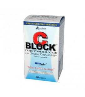 Absolute Nutrition Bloc C Carb Blocker et de l'amidon - 90 caplets