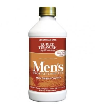 Buried Treasure liquide complet de la prostate pour hommes 16 Oz Fl