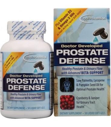 APPLIED NUTRITION Défense de la prostate alimentaire supplément 50ct