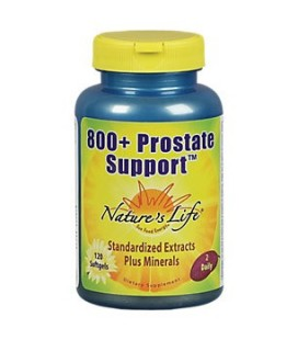 Natures Life - 800- soutien de la prostate Softgel (Btl-plastique) 120ct