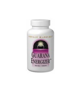 Source Naturals Guarana Energizer 900mg, 100 Tablets