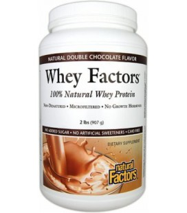 Natural Factors Whey Factors, Vanilla, 2-Pound