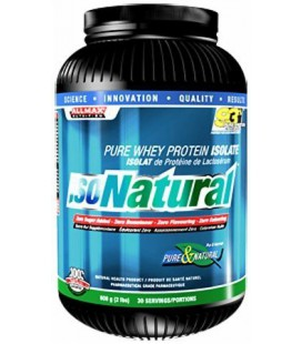 IsoNatural - Whey Protein Isolate Unflavored 5 lbs