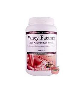 Natural Factors - Whey Factors Powder Drink Mix Chocolate -