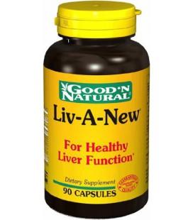 Good N Natural - Liv-A-New (Liver Formula) - 90 Capsule