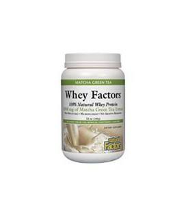 Natural Factors Whey Factors, Matcha Green Tea, 12-Ounce