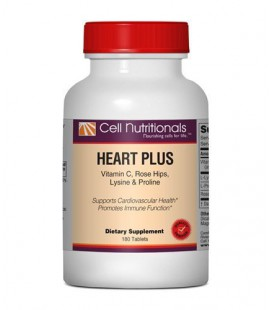 Heart Plus: Vitamin C, L-Lysine & L-Proline 180 Tablets