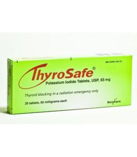 Thyrosafe Potassium Iodide Tablets, 65 Mg, 20-Count