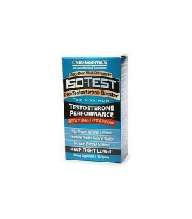 IsoTest Low-T Booster from Cybergenics Pro-Testosterone Booster Once A Day for the Best Ageless Male Supplement As Seen On TV