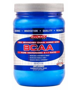 BCAA Powder, Unflavored, 400 grams