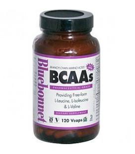 Bluebonnet - BCAAs - 120 VegCap Kosher,Gluten-Free