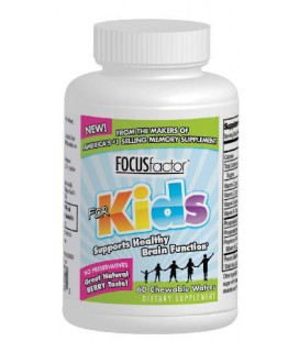 Factor Nutrition Labs Focus Factor for Kids, 60-Chewable Waf