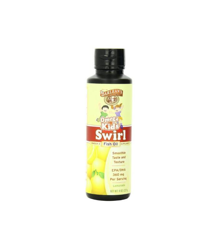 Barlean 39 s organic oils kid 39 s omega swirl fish oil lemonade for Barlean s omega swirl fish oil